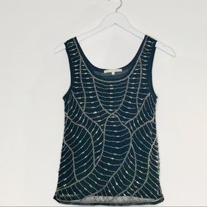 Search for sanity shirt beaded tank top SzXS